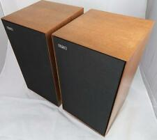 VERY EARLY ROGERS COMPACT MONITOR STEREO SPEAKERS - WORLDWIDE SHIPPING