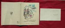 n°2510 / ROSENGART dépliant menu et programme du banquet 11 octobre 1932