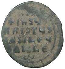 Basil II Follis ancient byzantine coin antike byzantinische münzen Jesus Christ