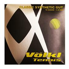 VOLKL - V22508 CLASSIC SYNTHETIC GUT 16 GUAGE  1.30 MM COLORE GIALLO  FLUORESCEN 5003b09a9df85
