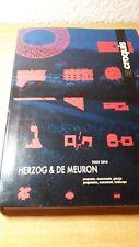 El Croquis nº 152/153 - Herzog & de Meuron - 2005-2010