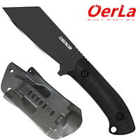 Oerla Knives Fixed Blade Camping Field Knife Full Tang G10 Handle Kydex Sheath