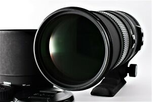 【Optics MINT】SIGMA APO 150-500mm F5-6.3 DG OS HSM LENS for CANON EF Japan #431