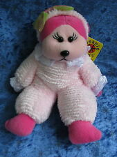 BEANIE KIDS - BUBBY THE BABY BEAR - BK 532 - PINK PLUSH SOFT CUTE RETIRED MWMT