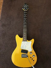 Fender Heartfield electric guitar  RR9 Sparkle Yellow vintage rare