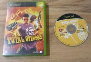 TOTAL OVERDOSE - ORIGINAL XBOX - TESTED