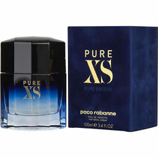 Pure XS Paco Rabanne Cologne for Men Eau De Toilette 3.4 Oz 100ml Spray