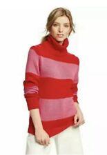 Isaac Mizrahi for Target Womens Knit Colorblock Turtleneck Sweater 2X Pink