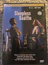 "Sleepless in Seattle (DVD) Meg Ryan, Tom Hanks:  EXCELLENT,  WITH ""4"" PG.BOOKLET"