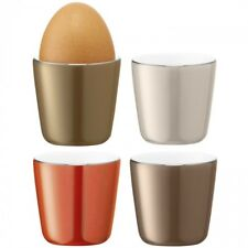LSA International Polka Egg Cups Metallic Assorted x4