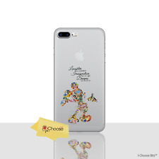 Disney Quote Fan Art GEL Case for Apple iPhone 8 Plus 5.5 Inch Silicone Cover