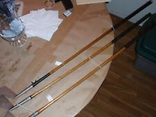 VINTAGE WOOD SHAFT GOLF CLUBS THREE PCS ONE BID DUNDEE IRONS THOS.E.WILSON & CO.
