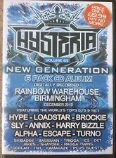 Hysteria Volume 65 drum n bass / jungle 6 x CD pack top DJs and MCs