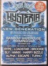 Hysteria Volume 65 drum n bass / jungle 6 x CD pack top DJs and MCs