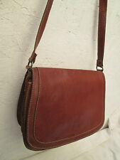 Sac à main bandoulière cuir  CUOIERIA FIORENTINA  vintage TBEG bag