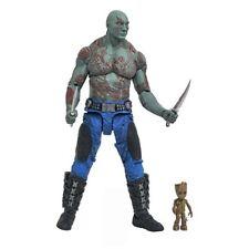"Diamond Marvel Select NEW * Drax & Baby Groot * Guardians Galaxy GotG 7"" Figure"