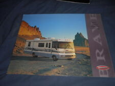 1997 1998 Winnebago Brave Full Line Motor Home Brochure Color Catalog Prospekt