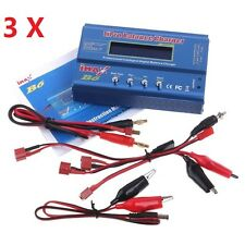 3x iMax B6 80W  Digital LCD RC NiMh Battery Balance Charger Discharger Balancer
