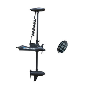 """Black Haswing 12V 55LBS 54"""" Bow Mount Electric Trolling Motor & Wireless Remote"""