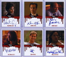 2014 True Blood Collector's Set 10 Autograph cards + 20 Base cards