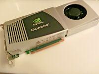 NVIDIA Quadro FX5800 Grafikkarte, 4GB RAM, CAD / Foto / Video, 2 Jahre Garantie