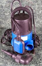 1/2 HP ELECTRIC SUBMERSIBLE SUMP WATER PUMP 25 foot Cord 1980 GPH w/ Adapter NEW