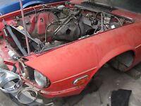 82 83 84 85 86 87 88 89 90 91 JAGUAR XJS L. FENDER BHC1811 RED