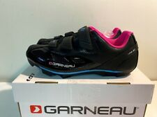 Women's Louis Garneau Multi Air Flex Bike Shoes, EUR 42/USA 11, Black-Pink
