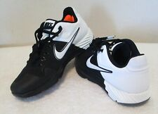 NEW Nike Alpha Huarche Elite 2 Turf Womens Softball Shoes 8.5 Black/White $80