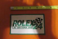 ROLEX 24 DAYTONA GRAND AM AMERICAN ROAD RACING SERIES 2002 PATCH