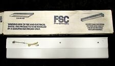 "New In Box 24"" Fluorescent Light Fixture Flush Mount Garage Lights One Blub Fsc"
