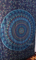 Twin Hippie Indian Wall Hanging Camel Elephant Mandala Room Decorative Tapestry