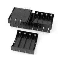 5Pcs Li-ion DIY Battery Plastic Case Holder for 4x3.7V 18650 Battery SH