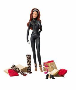 New - Mattel Barbie Christian Louboutin Cat Burglar Doll 2009 GOLD EDITION