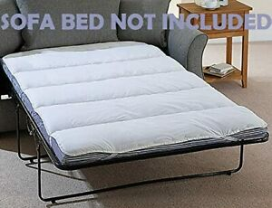 Mattress Topper Small Double Sofa Pull Out Bed Single Bunk Size Sheets Available