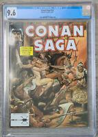 Conan Saga #53 CGC 9.6 Marvel Comics 1991