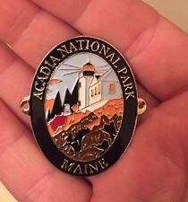 Acadia National Park  walking Hiking Medallion NEW Goes On Staff
