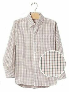 New Gap Kids Boy's Lined Dressy Collared Shirt Choose Color & Size