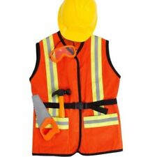 FAO Schwarz $40 NWT 5 Piece Construction Worker Role Play Children Outfit Set