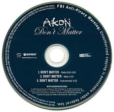 Akon DON'T MATTER (Promo Maxi CD Single) (2006)