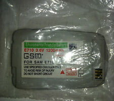 EFB e710 3.6v 1200mah li-Ion Batteria per Samsung sgh-e710 ARGENTO