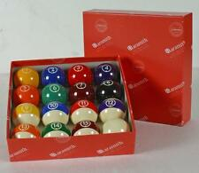 SET 16 PALLE ARAMITH CONTINENTAL POOL 8-15 BILIE 57,2mm