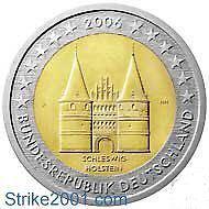 2 EURO COMMEMORATIVO GERMANIA 2006 FDC