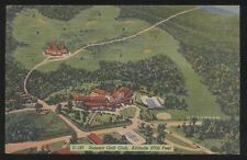 Postcard UNIONTOWN PA  Summit Hotel & Golf Country Club Aerial view 1930's