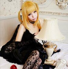 Death Note Amane Misa Long 60cm Blonde Cosplay Wig