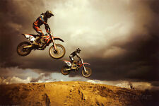 Motocross: Big Air Poster Print, 36x24