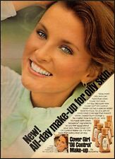 """1976 Vintage ad for Cover Girl """"Oil Control Make-up  (092812)"""