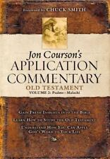 2: Jon Courson's Application Commentary: Old Testament Psalms-malachi