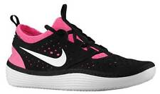 NEW NIKE SOLARSOFT COSTA LOW sz 11 BLACK PINK casual running shoes sneakers