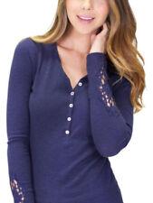 Cotton Blend Everyday Sleepshirt Sleepwear for Women